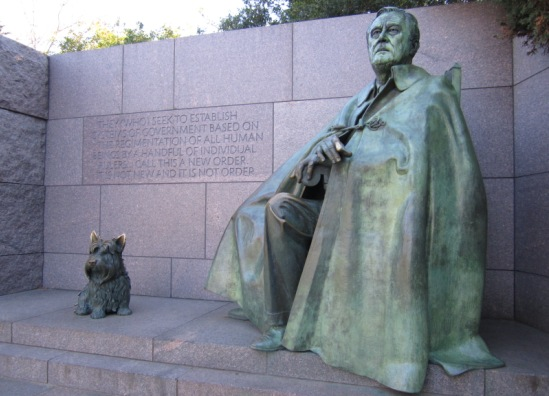 Franklin D. Roosevelt Memorial, Washington DC
